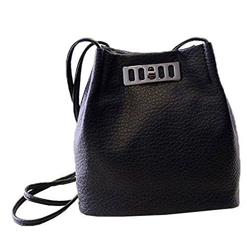 Top Shop Womens Bucket Leather Washing Totes Shoulder Bags Handbags Black Hobos (Hoover Handbag compare prices)