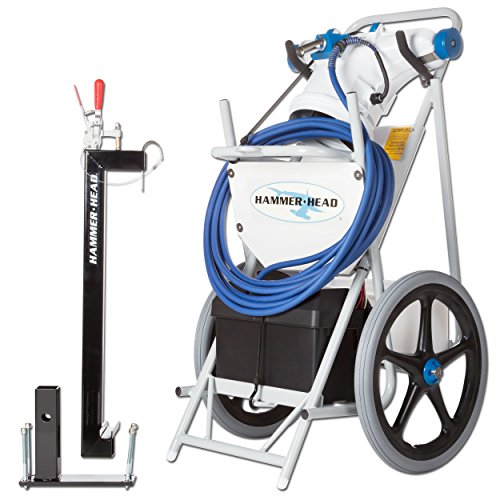 Hammerhead- Service Unit 21 Complete with 21 Inch Head, 60 Foot Cord, 2 Debris Bags, and Truck/Trailer Mount (Pool Hammer Head Vacuum compare prices)