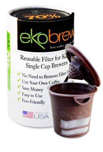 Ekobrew Refillable K-cup for Keurig 1.0 Brewers