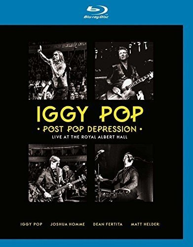 Blu-ray : Iggy Pop - Post Pop Depression Live At The Royal Albert Hall (United Kingdom - Import)