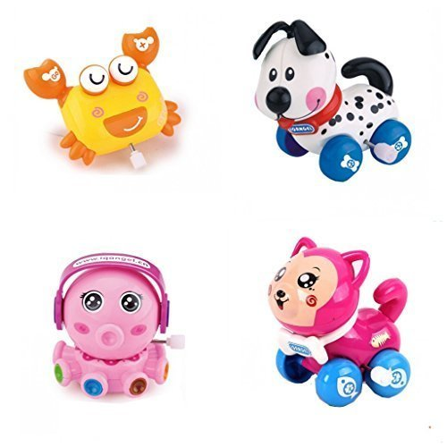 4pcsLot-Wind-Up-Toy-Wind-Up-Animal-for-Baby-Toddler-and-Kid-Crab-Dog-Octopus-Cat