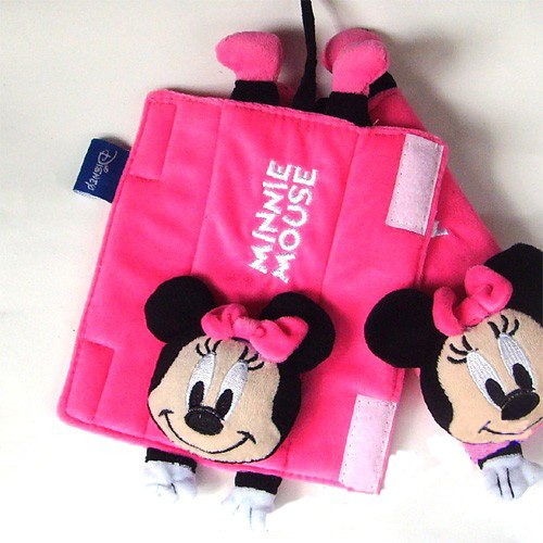 Minnie Mouse Baby Car Shoulder Pad Car Seat Belt Cover