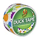 Duck Brand 280424 Paint Splatter Printed Duct Tape, 1.88 Inches x 10 Yards, Single Roll