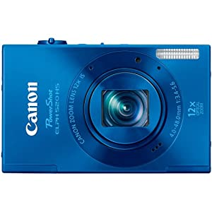 Canon PowerShot ELPH 520 HS 10.1 MP CMOS Digital Camera with 12x Optical Image Stabilized Zoom and 1080p Video $149.99