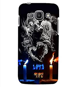 ColourCraft Love Design Back Case Cover for SAMSUNG GALAXY ACE 3 S7272 DUOS