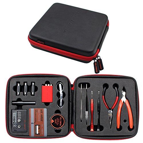 Coil Master V2 - Kit di accessori per fai da te, con cesoie, pinze e forbici, in ceramica