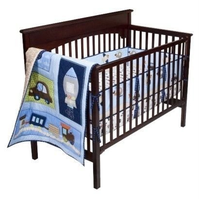 Boys Bedding Cars front-145451
