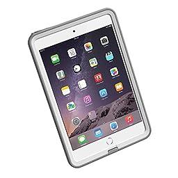 LifeProof FRE iPad Mini/Mini 2/Mini 3 Waterproof Case - Retail Packaging - AVALANCHE (WHITE/GREY)
