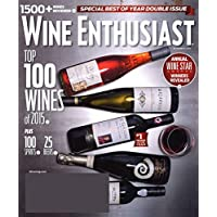 1-Year (13 Issues) of Wine Enthusiast Magazine