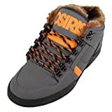 Osiris NYC'83 Mid SHR Charcoal Orange Black