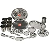 Kitchen Utilities 51 Pcs Stainless Steel Dinner Set