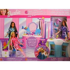Online Barbie Gamesbarbie Games Dark Auburn Hair Color