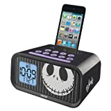 eKids Jack Skellington Dual Alarm Clock and 30 pin iPod Speaker Dock , by iHome - DJ-H22