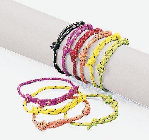 Friendship Rope Bracelets (72 pc)