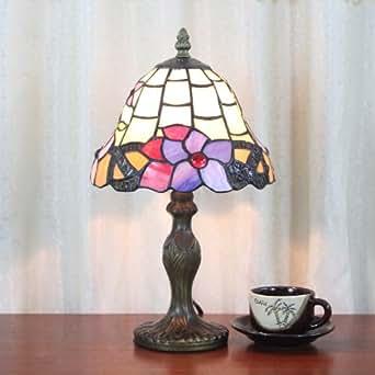 8 Inch Tiffany Lamp Living Room Lamp Bedroom Bedside Lamp Bar Lighting Minima