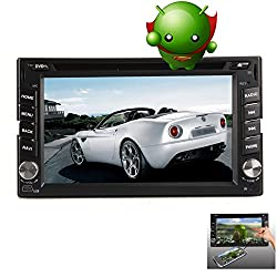 See Screen Mirroring! Capacitive Android 4.2 Double din universal Car DVD Player+Stereo+Radio+3D GPS Navigation+Bluetooth+Steering wheel control 2-Core CPU Video Audio Details