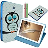 Samsung Galaxy Note 8.0 N5100 N5110 Case,MaxMall Owl Pattern Stand PU Leather Case Cover Slim Fit for Samsung Galaxy Note 8.0 N5100 N5110