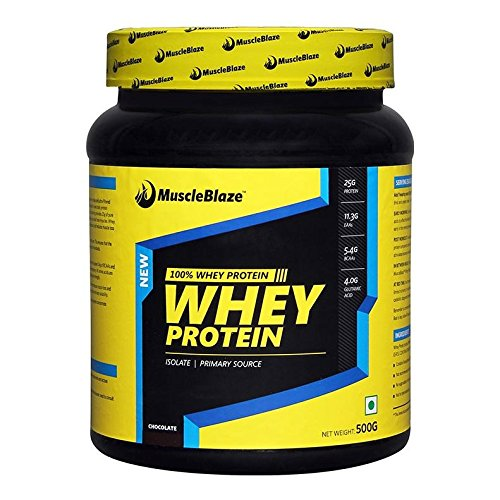 Muscle blaze-Whey protein,chocolate 500gms
