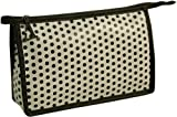 Vagabond Black Dot Oilcloth Holdall Cosmetic Toiletries Bag