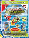 Gogos Crazy Bones Series 4 Power Starter pack comes with card Album & 2 Booster Packs