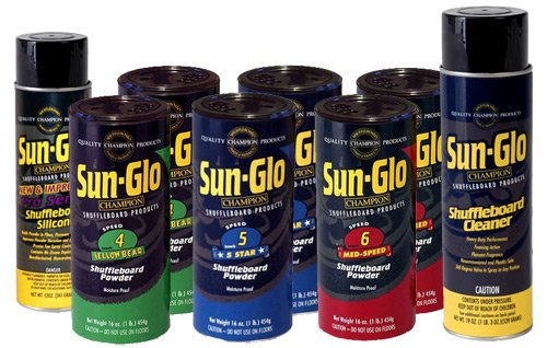 Purchase Sun Glo Shuffleboard Performance Sampler Pack - For 9ft to 12ft Tables