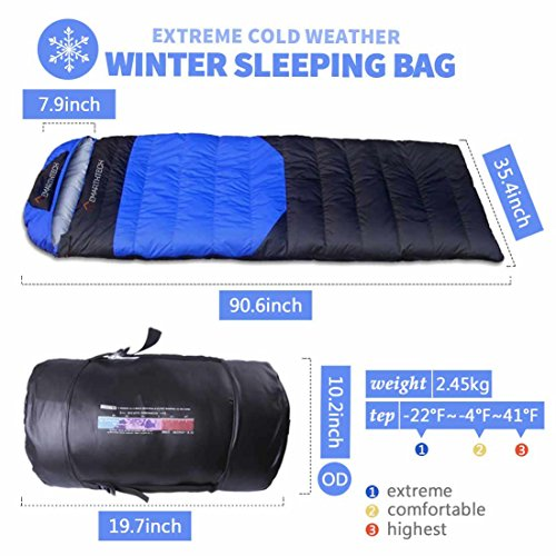 Emarth-Extreme-Cold-Weather-Winter-Sleeping-Bag-22F41F-with-Ultra-Compact-Design-Blue