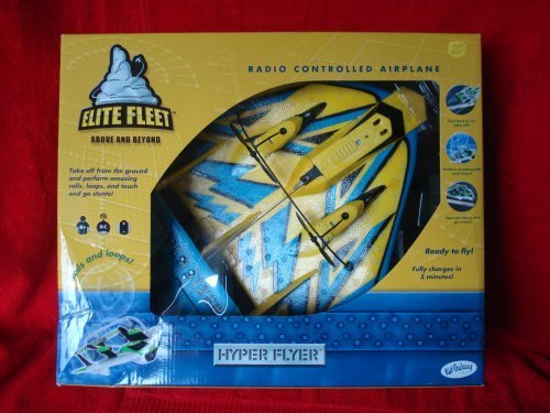 Elite Fleet Hyper Flyer Radio Controlled Airplane