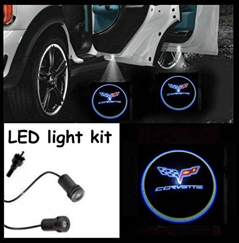 corvette-einstieg-iluminacion-puerta-luz-led-cree-r3-light-kit-chevrolet-corvette-logo-par