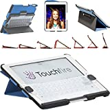 Touchfire® Ultra-Protective Case, 3-D Keyboard, Sound Booster & Magnetic Mount for iPad® 2, 3, 4 - Black