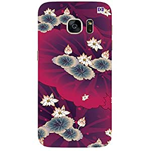 Lotus Design - Mobile Back Case Cover For Samsung Galaxy Note 7