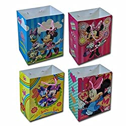 12-Pack Disney Minnie Mouse Large Party Gift Bags