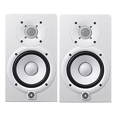Yamaha HS5 5 in. Active Powered Studio Monitor (White) PAIR by Yamaha