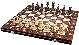 ポーランド製 木製チェスセット41cmチェス盤チェス駒セット Poland wood chess