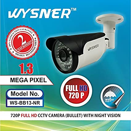 Wysner-WS-BB13-NR-1.3MP-Bullet-CCTV-Camera
