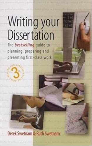 Writing Your Dissertation by Derek Swetnam, Ruth - Waterstones