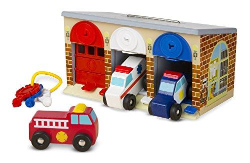 Melissa & Doug Lock and Roll Rescue Garage (Melissa Doug Tool Box compare prices)