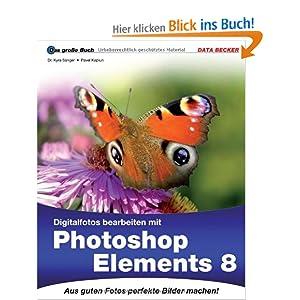 eBook Cover für  Das gro szlig e Buch Digitalfotos bearbeiten mit Photoshop Elements 8