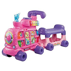 VTech Sit To Stand Alphabet Train Pink