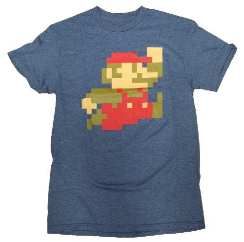 Nintendo Super Mario Bros 8-Bit Pixel Sprite T-Shirt -
