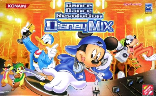 Dance Dance Revolution Disney Mix