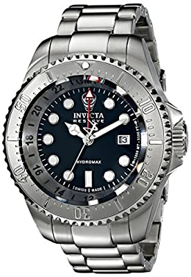 Invicta Men's 16957 Reserve Analog Display Swiss Quartz Silver Watch
