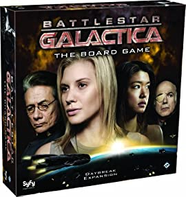 Battlestar Galactica Daybreak Expansion Board Game