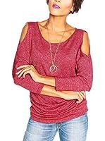 SO Cachemire & Knitwear Camiseta Manga Larga Joa (Burdeos)