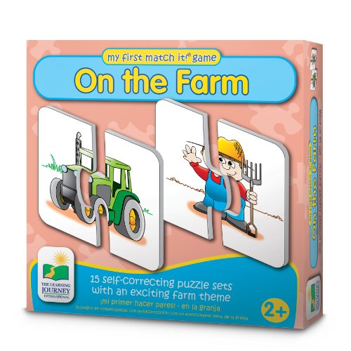 The Learning Journey My First Match It! - On The Farm
