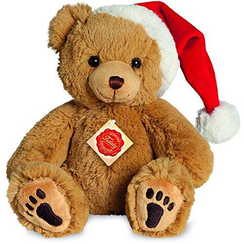 Teddy Hermann 91385 Teddy gold mit Muetze 23