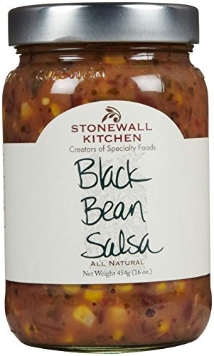 Stonewall Kitchen Black Bean Salsa, 16 oz (Black Bean And Corn Salsa compare prices)