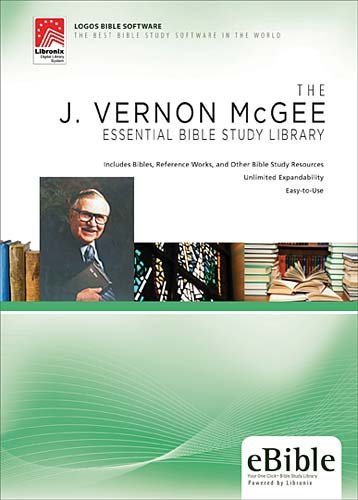 J. Vernon McGee Essential Bible Study Library