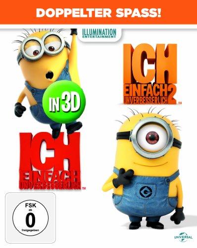 Ich einfach unverbesserlich 1+2 (2D/3D) (Limitiert / Exklusiv bei Amazon.de) [3D Blu-ray]