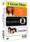 When Harry Met Sally/Moonstruck/Untamed Heart [DVD]