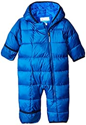 Columbia Baby Boys\' Frosty Freeze Bunting, Marine Blue, 18-24 Months